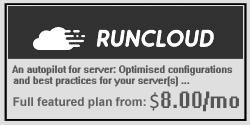 Runcloud! Autopilot server ...
